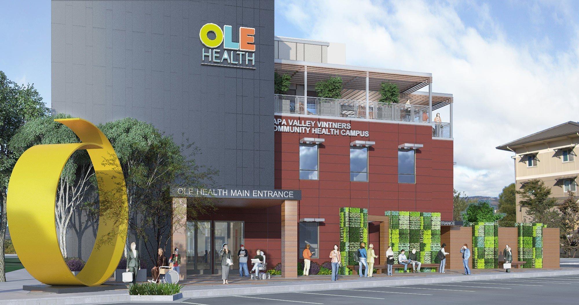 Ole Health Sculpture