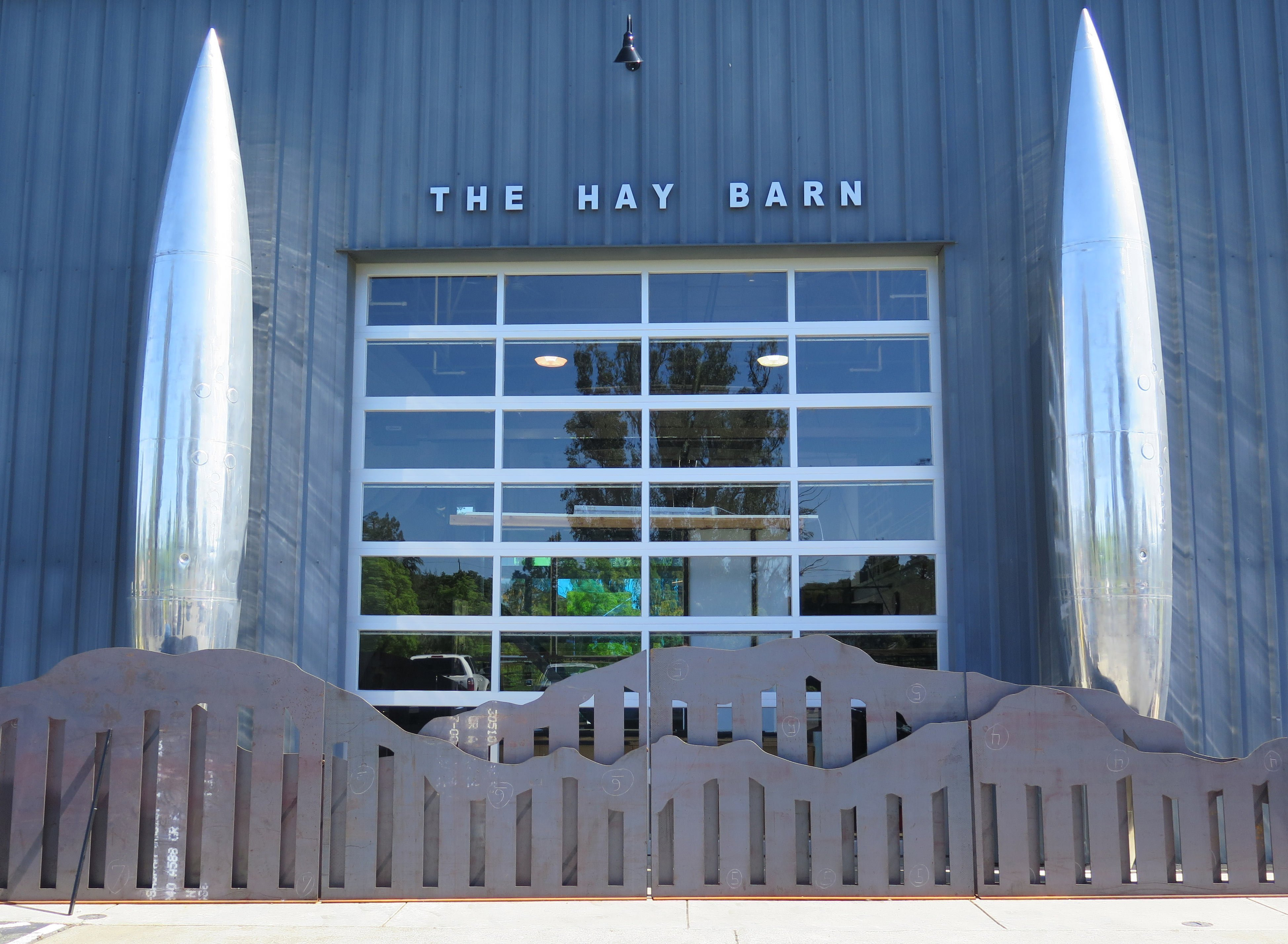 The Hay Barn Front