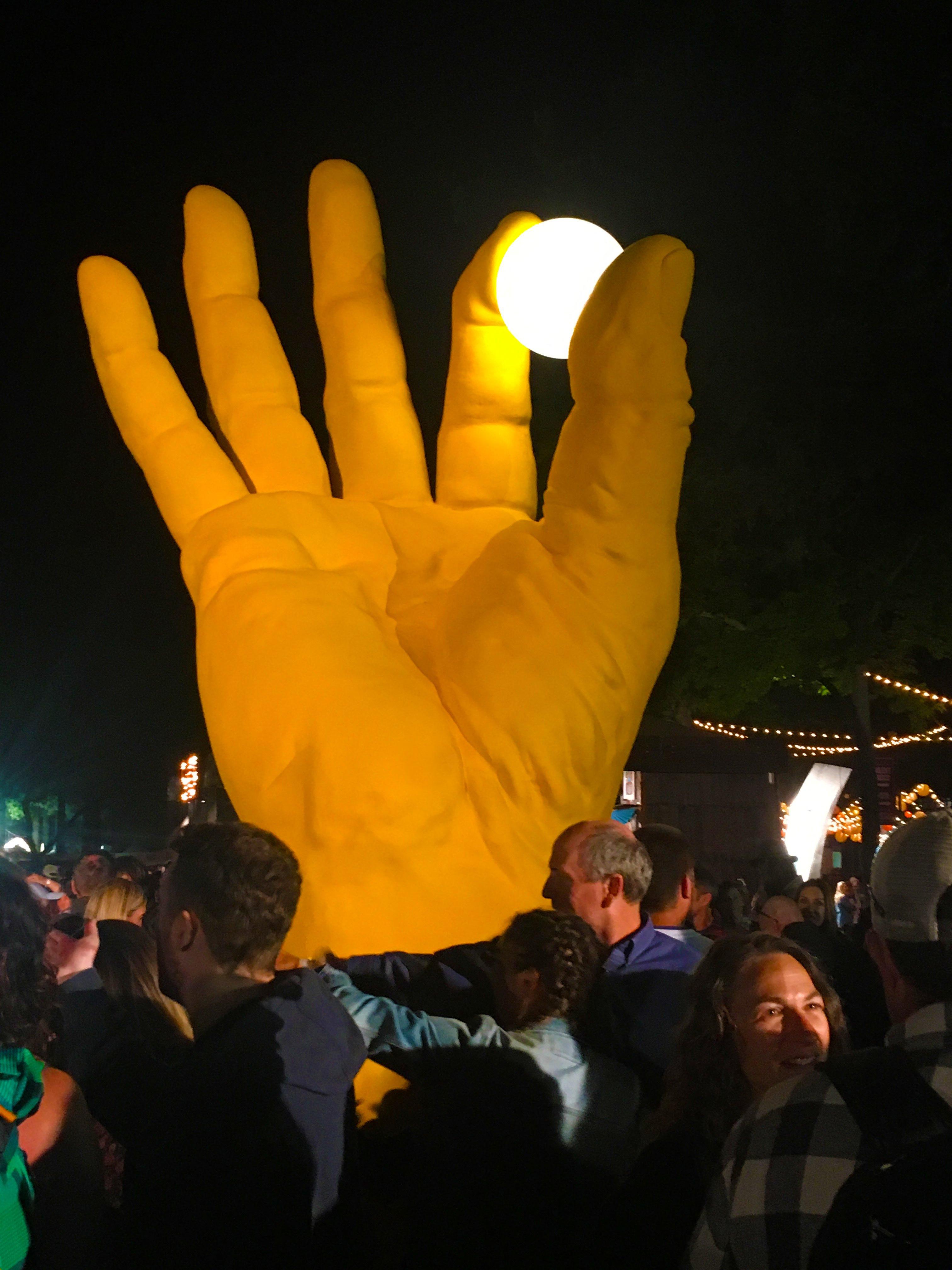Hand at Night