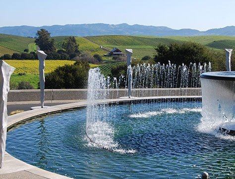 Artesa Vineyards & Winery Fountain