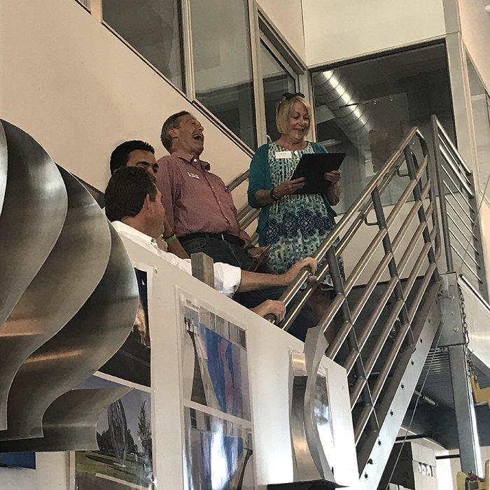 Celebrating Public Art Staircase