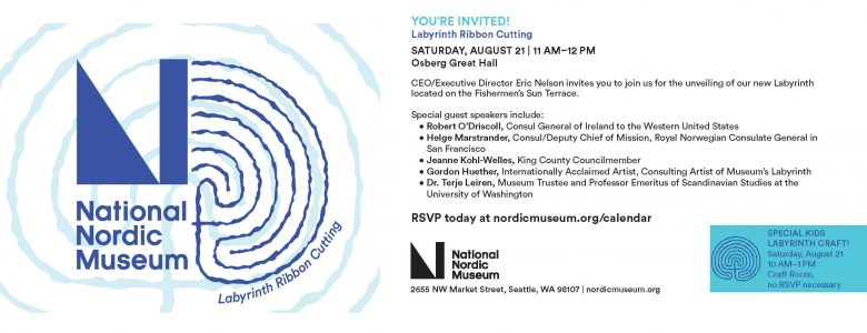 Gordon Huether To Present at The National Nordic Museum As Consulting Artist For New Labyrinth
